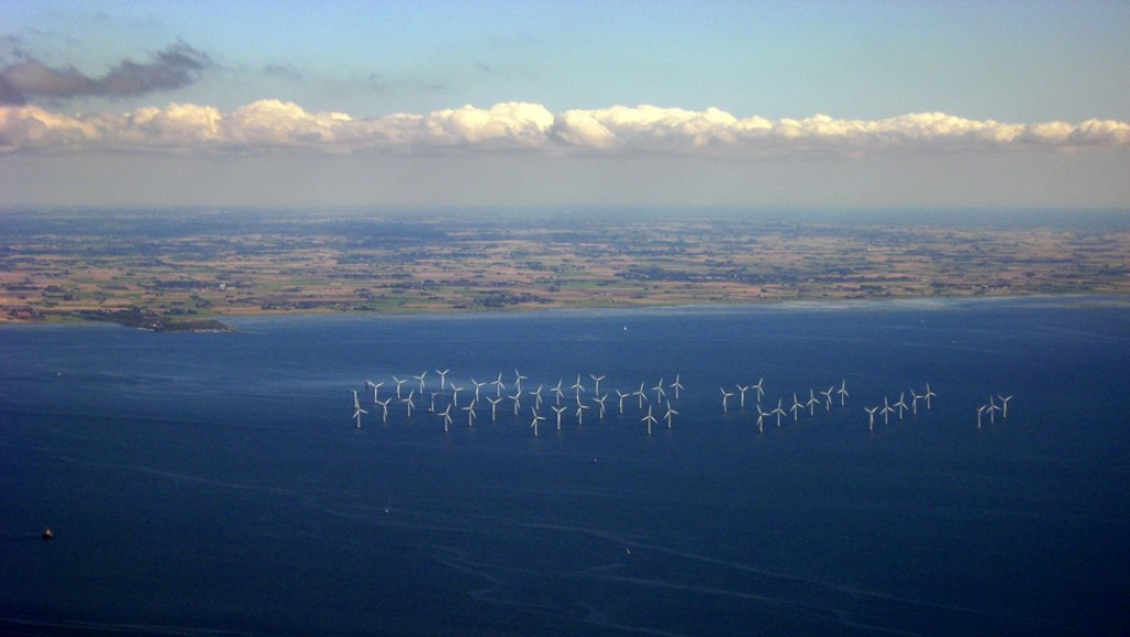 Lillgrund, Öresund - the largest offshore wind farm in Sweden