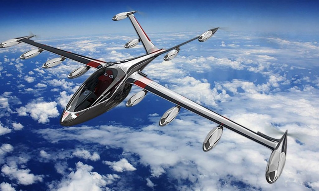 Joby s2 has 12 propellers and 16 electric motors for a for Electric motor for aircraft