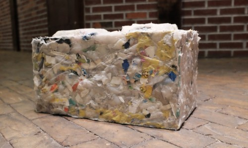 ByFusion turns all types of ocean plastic into eco-friendly construction blocks