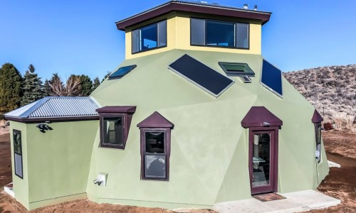 Envirohaven's super green geodesic homes can be built in just a few days