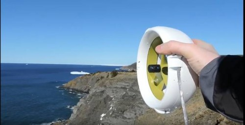 Waterlily turbine powers your outdoor adventures with wind and water