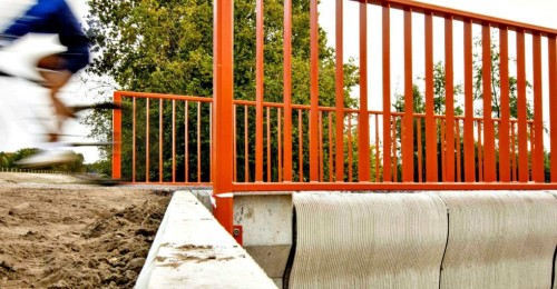 World's first 3D-printed bridge opens in the Netherlands