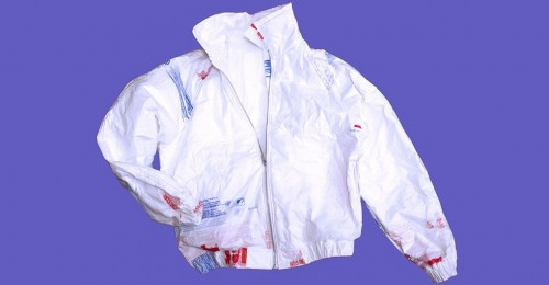Maryland grad turns recycled plastic bags into eco-fashion