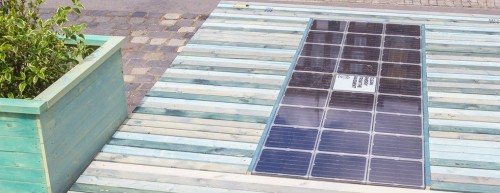 Recycled plastic paving company Platio installs first 3 solar systems