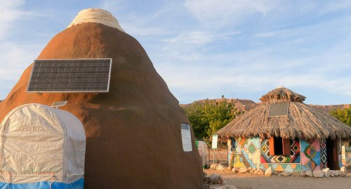 Off-grid village with game-changing green solutions blooms in the Middle East
