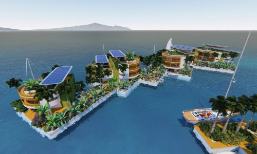 How the world's first floating city could restore the environment
